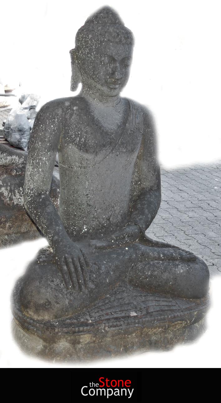 authentische alte balinesische xxl buddha skulptur figur 1 50 m hoch. Black Bedroom Furniture Sets. Home Design Ideas